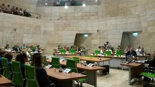 Mr Chircop addressed parliament ahead of grandparents' day, which will be celebrated this coming Sunday. Photo: Sarah Carabott
