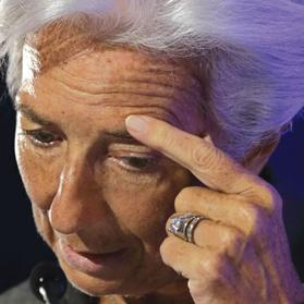 International Monetary Fund managing director Christine Lagarde. Photo: Philippe Wojazer/Reuters