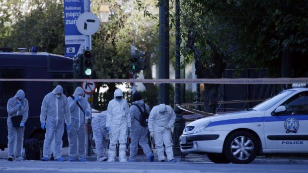 Small explosion outside French embassy in Athens, police say