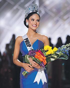 Miss Universe 2015 – Miss Philippines Pia Alonzo Wurtzbach.