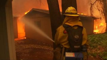 Ferocious winds whip California fires as death toll rises to 31