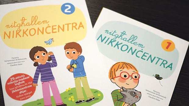 The workbooks, ideal for students with concentration issues or ADHD, are a first for Malta. Photos: Jonathan Borg