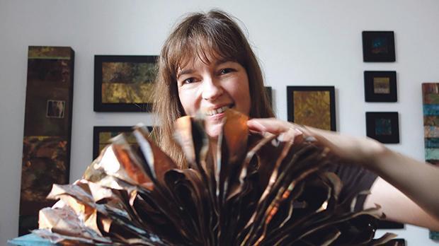 Danish artist Marie Louise Kold