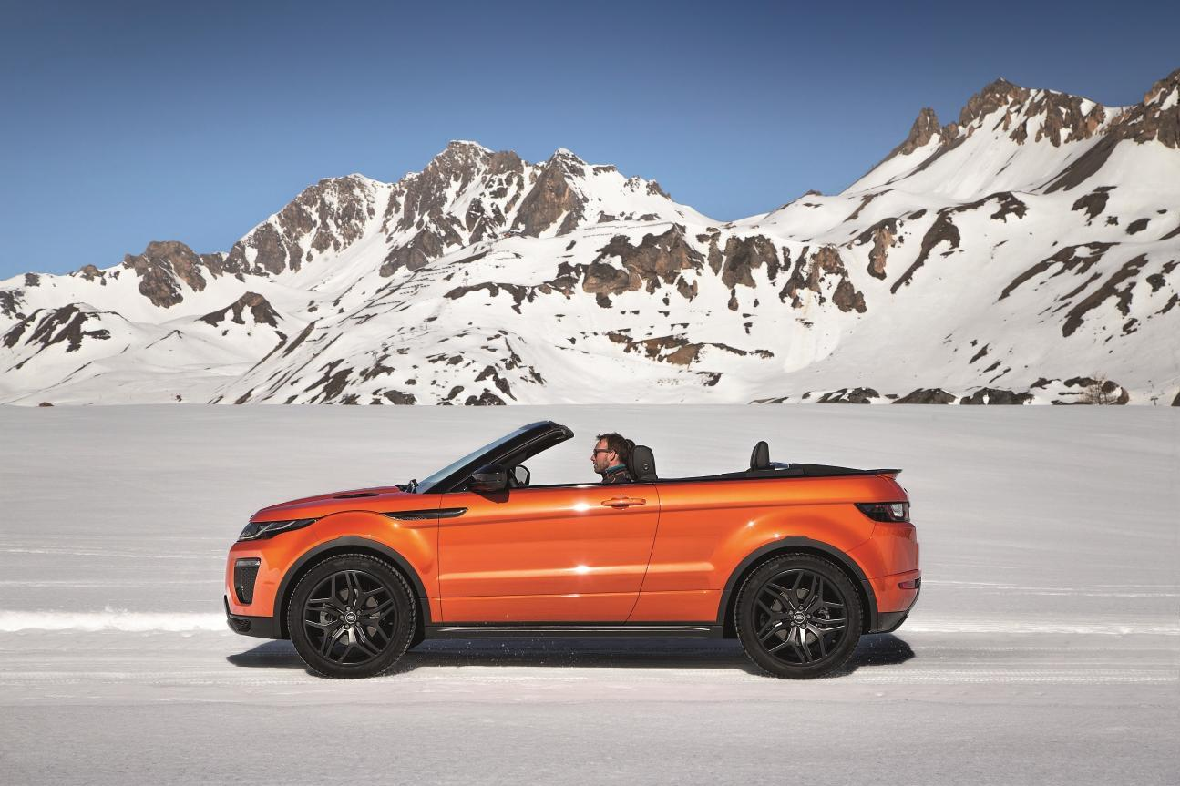 The Evoque Convertible packs plenty of off-road tech.
