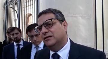 "Muscat: ""I haven't yet seen full Egrant report""; Bonnici: ""I gave nobody a copy"" | Video: Chris Sant Fournier"