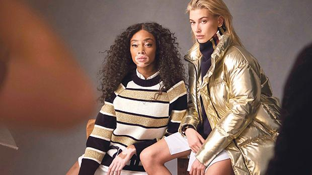 Winnie Harlow and Hayley Baldwin