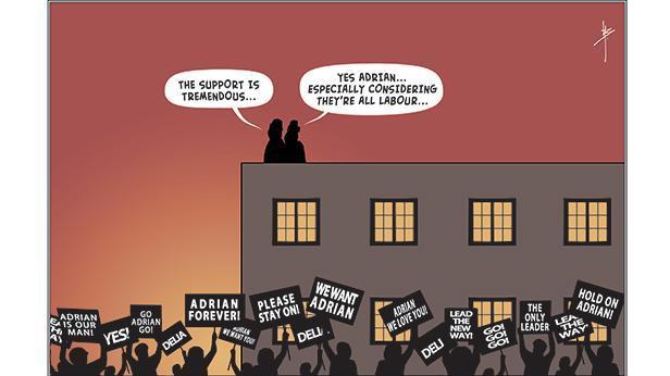 Cartoon: Islanders