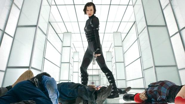Mila Jovovich raises some serious hell in Resident Evil: Retribution.