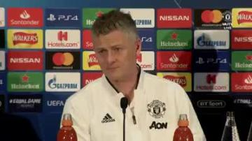 Watch: Solskjaer says perfect time for confident Man. United to play PSG