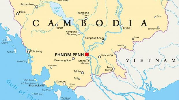 Cambodian mp jailed for posting fake border map to facebook border issues are a sensitive topic in cambodia photo shutterstock gumiabroncs Images