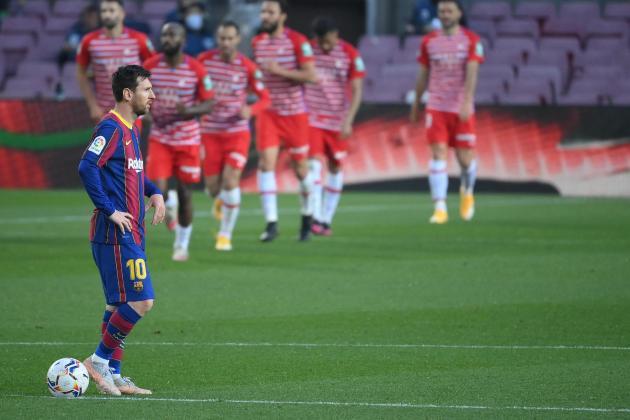 Barcelona's shock defeat keeps La Liga title race wide open