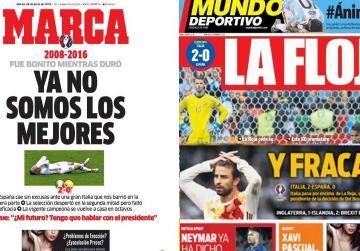 'Failure': Spanish press lashes into La Roja