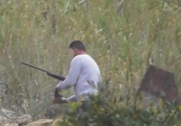 'Thousands' of turtle doves shot down, poacher filmed