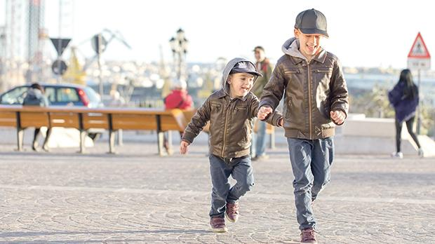 It is of utmost importance that children are encouraged to always be physically active, while reducing time spent sedentary in front of the TV, computer or phone. Photo: Shutterstock.com