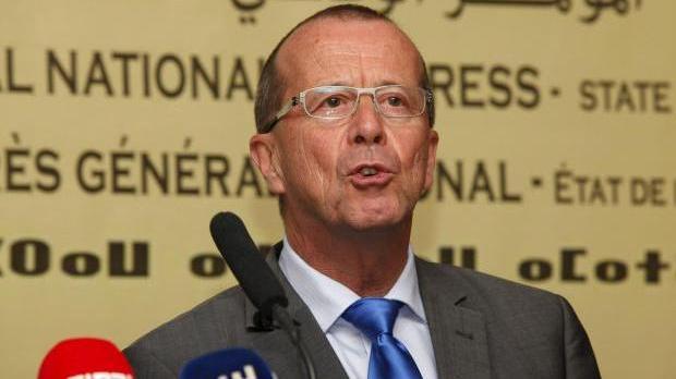UN Special Representative and Head of the UN Support Mission in Libya, Martin Kobler.
