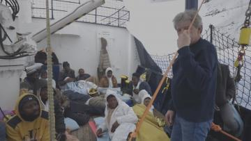 Watch: Rescue vessel asks Malta for shelter | Video: See Eye