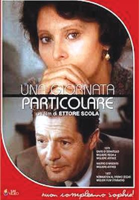 A poster of the 1977 film Una giornata particolare (A Strange Day), directed by Ettore Scola.