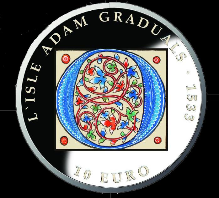 The silver coin. Photo: Central Bank of Malta