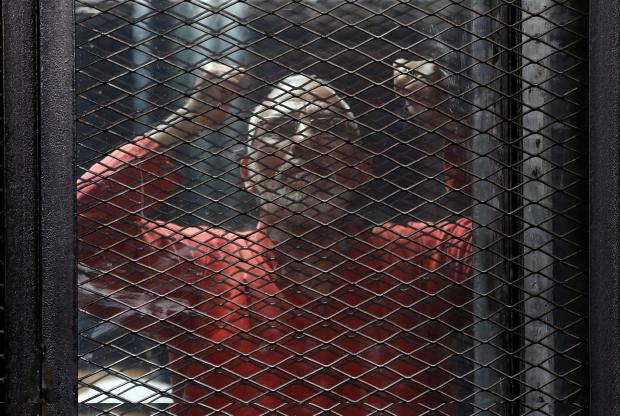 Muslim Brotherhood leader Mohamed Badie is among those sentenced to death, sources said. Photo: Reuters