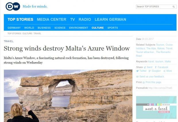 Deutsche Welle's report.