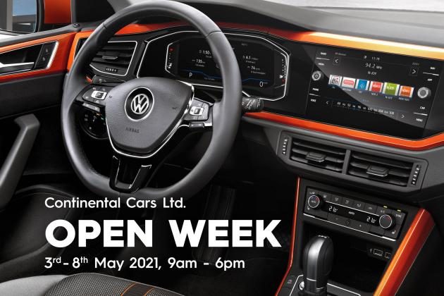 Continental Cars Open Week