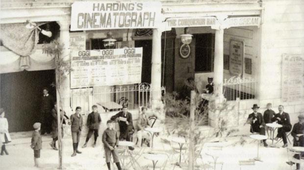 Harding's Cinematograph in St Anne Square, Sliema. Photo: R. Ellis