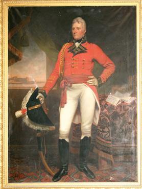 A portrait of Sir Thomas Maitland, courtesy of Thirleston Castle Trust.