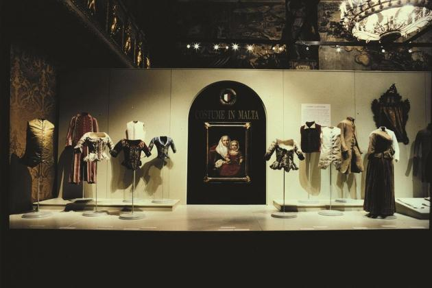 Behind-the-scenes of a costume exhibition