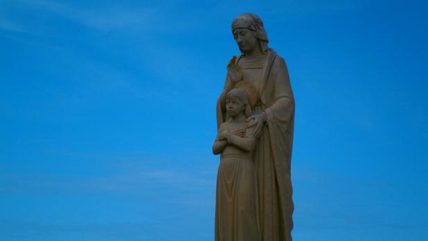 Statue at Ta' Pinu in Gozo. Photo: Megan Mallia