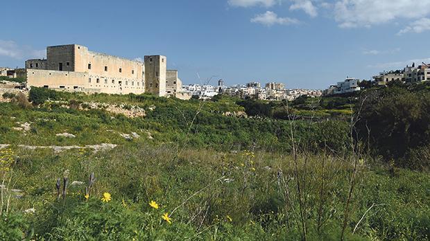 A new environmental initiative has been launched in Wied Għomor, San Ġwann.  Photo: Matthew Mirabelli