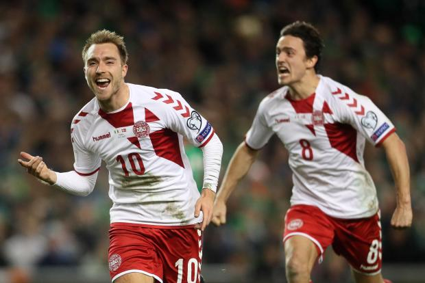 Christian Eriksen lead Denmark to the 2018 World Cup finals.