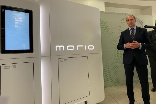 'Mario' the robo-nurse will dish out medicine at hospital