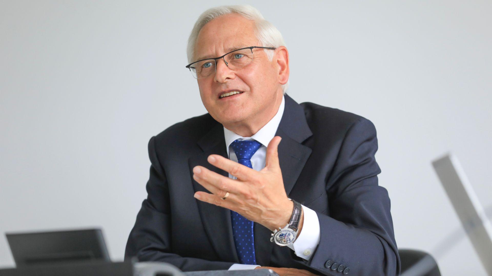 Uwe-Karsten Städter, Member of the Executive Board for Procurement, 2020, Porsche AG.