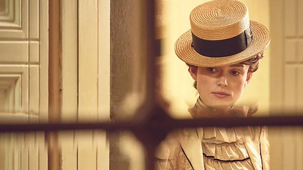 Keira Knightley tries to overcome the societal constraints of the early 20th century in Colette.