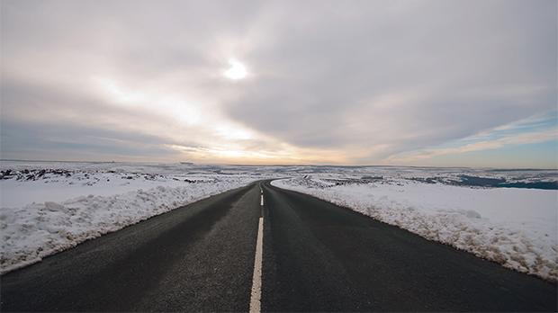 Smart solar roads could use heating elements to melt snow, avoiding the expense of snow-ploughs.