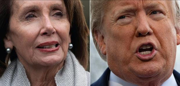 Pelosi's grounding was described as 'sophomoric'.
