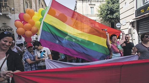 Transgender people in particular were seen by Maltese professionals as the group which had their needs met the least. Photo: Joanna Demarco