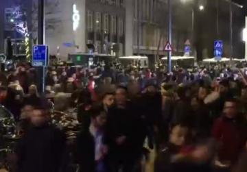 Dutch riot police break up pro-Erdogan demonstration in Rotterdam