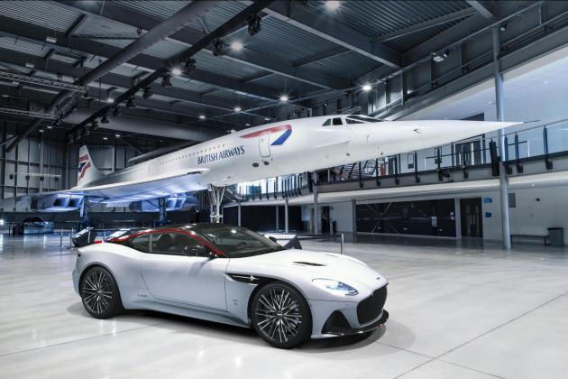 Aston Martin Concorde Edition celebrates 50th anniversary