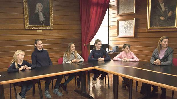 Members of the second and third generation of the Chalmers family also attended the signing ceremony in the University's Council Room.