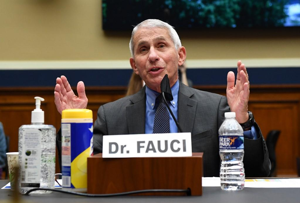 Anthony Fauci continues to enjoy the trust of most Americans. Photo: AFP