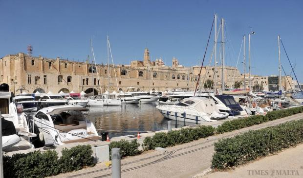 The Valletta Boat Show in Cospicua on October 8. Photo: Chris Sant Fournier