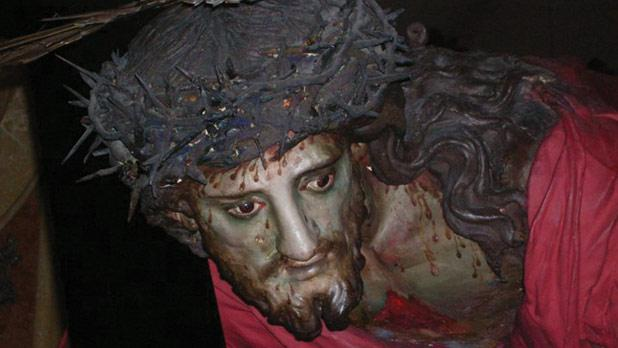 The miraculous effigy of Jesus the Redeemer.