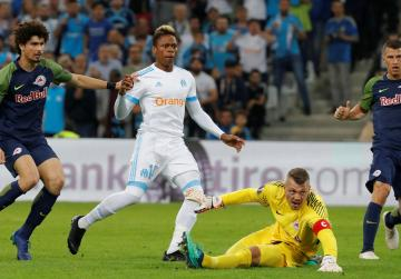 Payet inspires Marseille to 2-0 win over Salzburg in Europa semi