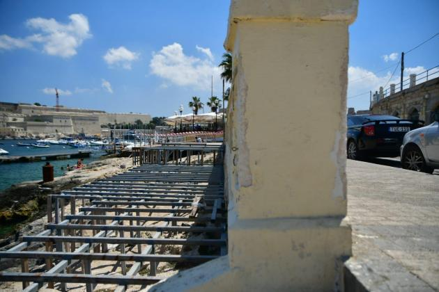 Ta' Xbiex seafront gets decking for public bathers