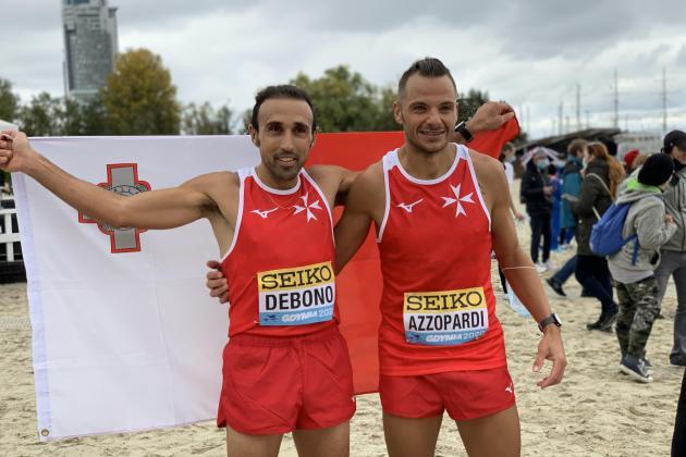 Commendable showings by Athletics Malta at World Half Marathon Championships