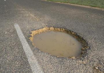 Pothole jolt returns man's dangerous heartbeat to normal