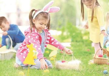 Inspire's Easter egg hunt is back