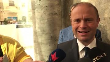 Watch: MUT caught off-guard as Muscat goes public with offer to teachers' union | 'The issue was not raised during previous consultation': Dr Muscat speaks to the media. Video: Mark Zammit Cordina