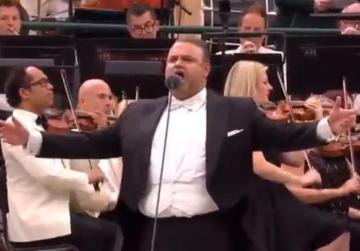 Watch: Joseph Calleja raises the roof at Wimbledon unveiling